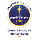 Labelle Excellence 2017 Compte Epargne Transmission