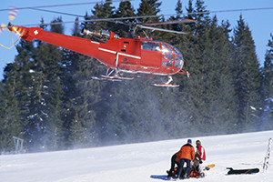 La responsabilité dans les accidents de ski