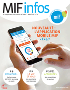 Application Mobile MIF - MIF Infos n°86