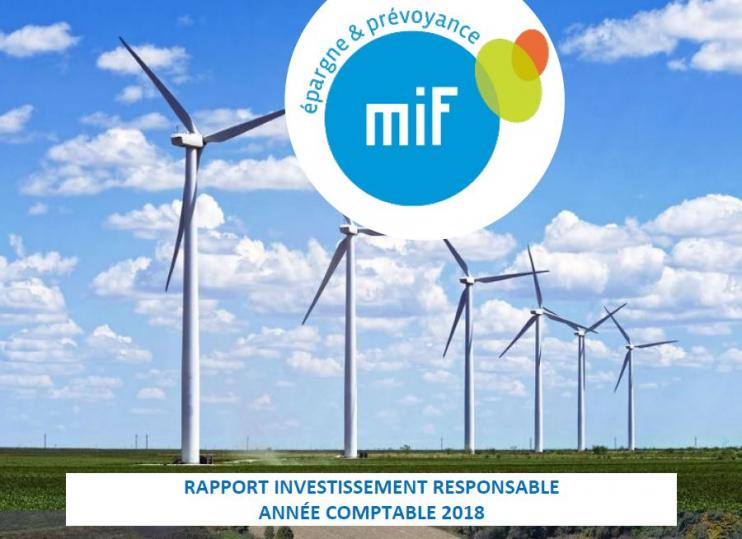 MIF Rapport ESG 2018